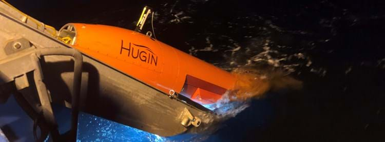 image of hugin auv