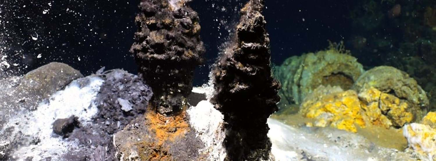 Hydrothermal vent - K.G. Jebsen Centre for Deep Sea Research UiB