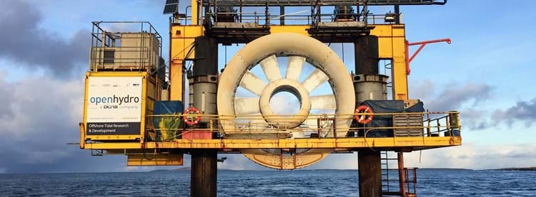 marine turbine photo